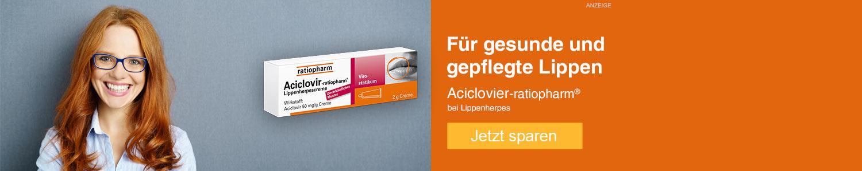 Jetzt Aciclovir-ratiopharm günstig online kaufen!
