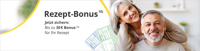 Holen Sie sich Ihren Rezept-Bonus bei apotheke.de!