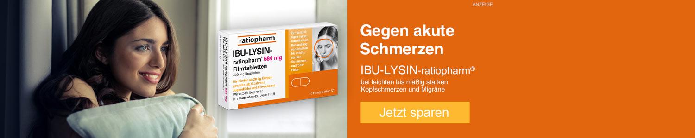 Jetzt Ibu-Lysin-ratiopharm günstig online kaufen!