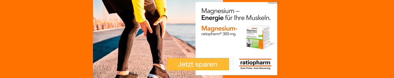 Jetzt magnesium-ratiopharm günstig online kaufen!