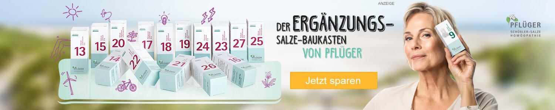 Jetzt Schüßler Salze Basissalze 13 bis 27  günstig online kaufen!