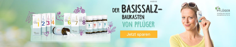 Jetzt Schüßler Salze Basissalze 1 bis 12 günstig online kaufen!