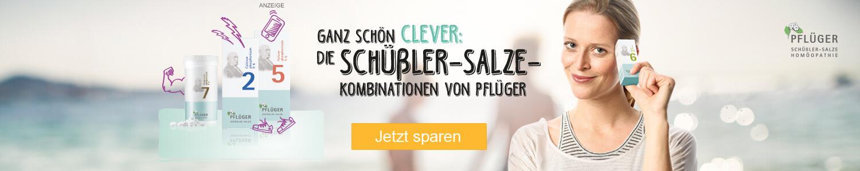 Jetzt Pflüger Schüßler Salze günstig online kaufen!