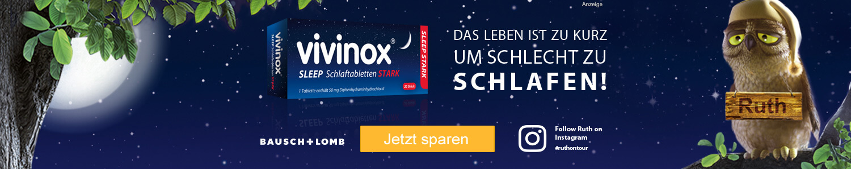 Jetzt Vivinox Sleep stark günstig online kaufen!