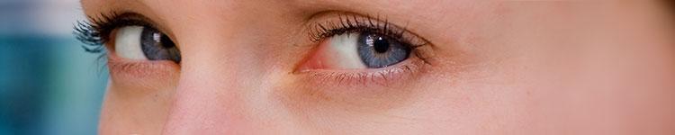 Gereiztes Auge