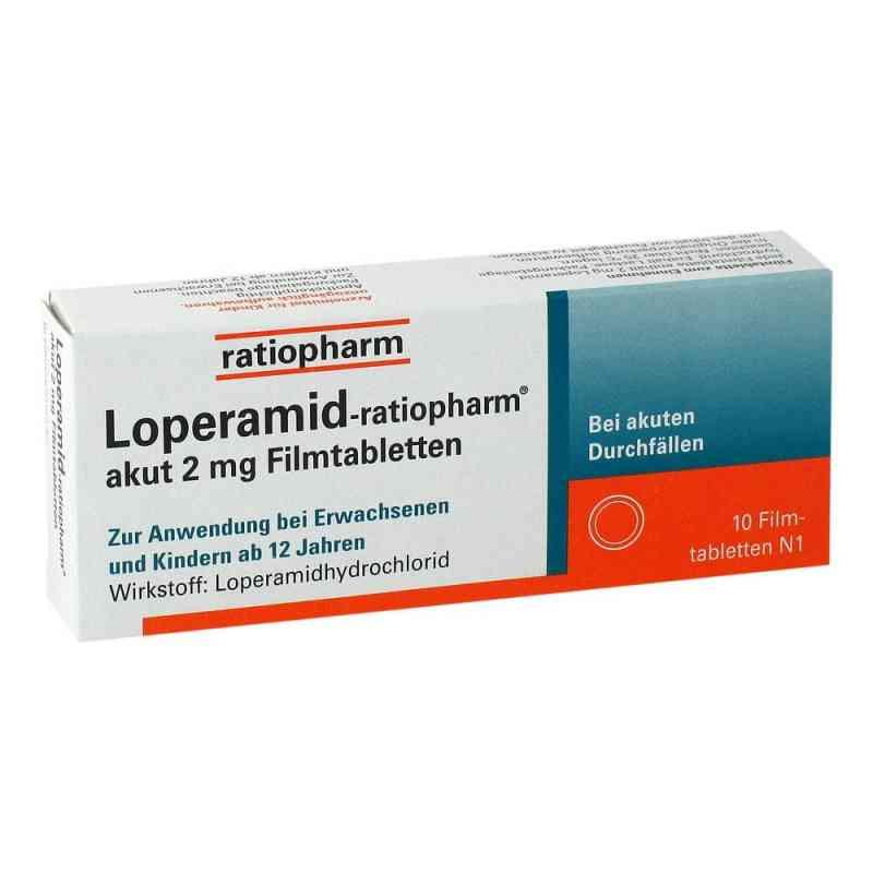 Loperamid-ratiopharm akut 2mg  bei Apotheke.de bestellen