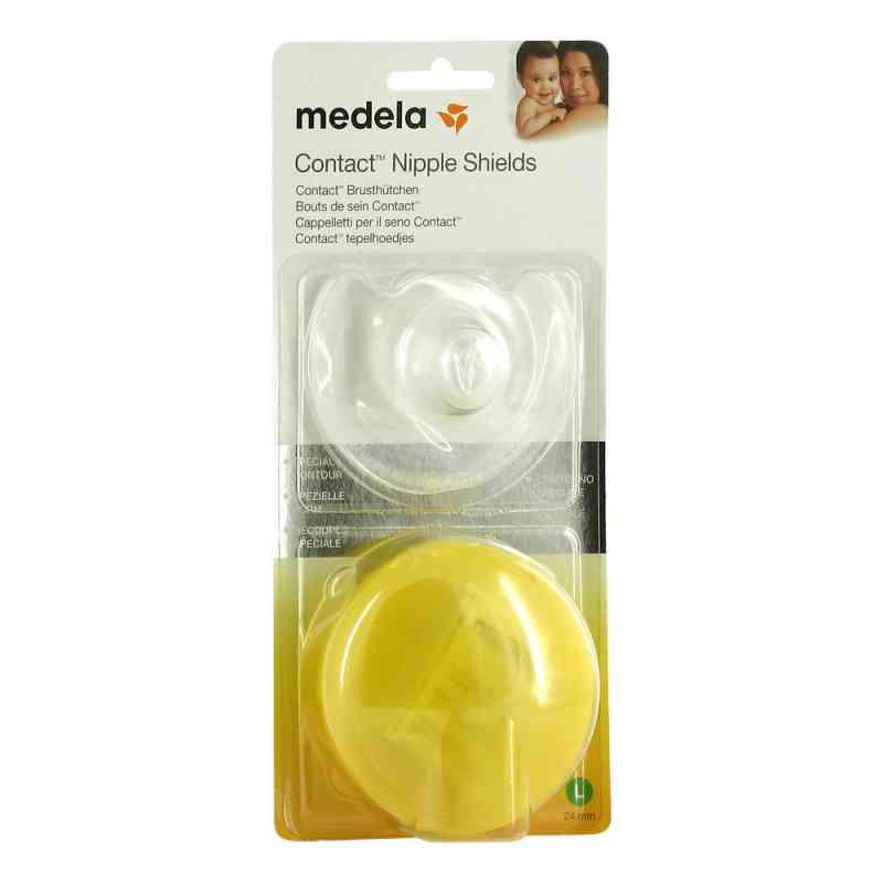 Medela Brusthütchen Contact L mit Aufbw.Box  bei Apotheke.de bestellen