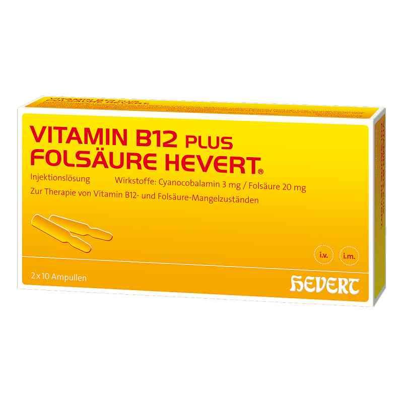 Vitamin B12 Folsäure Hevert Ampullen -paare  bei Apotheke.de bestellen