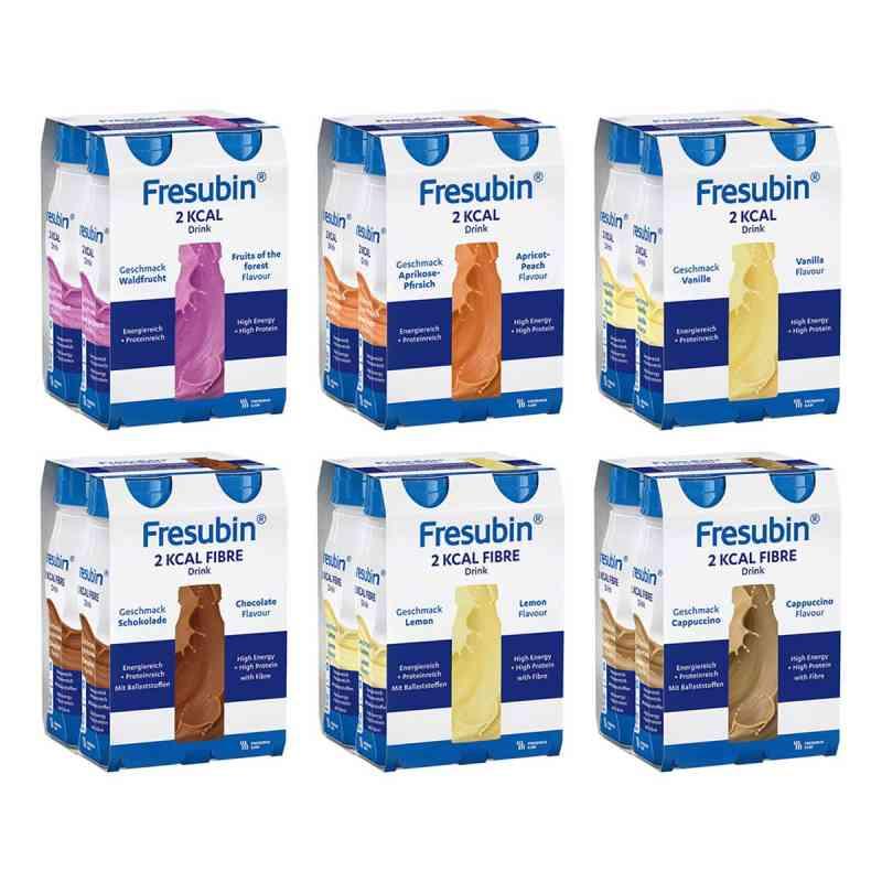 Fresubin 2 kcal Drink Mischkarton Trinkflasche  bei Apotheke.de bestellen