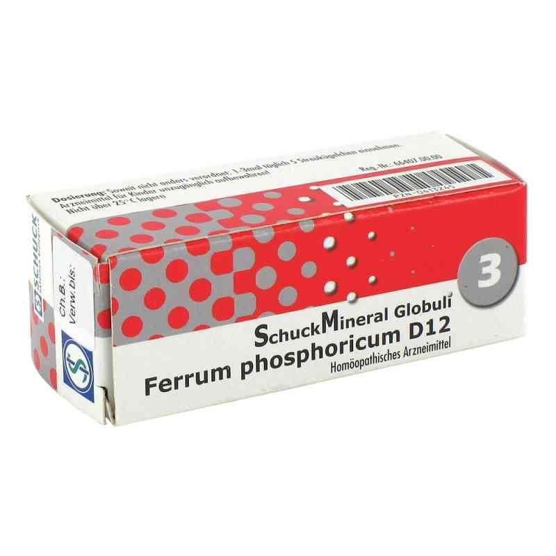 Schuckmineral Globuli 3 Ferrum phosphoricum D12  bei Apotheke.de bestellen