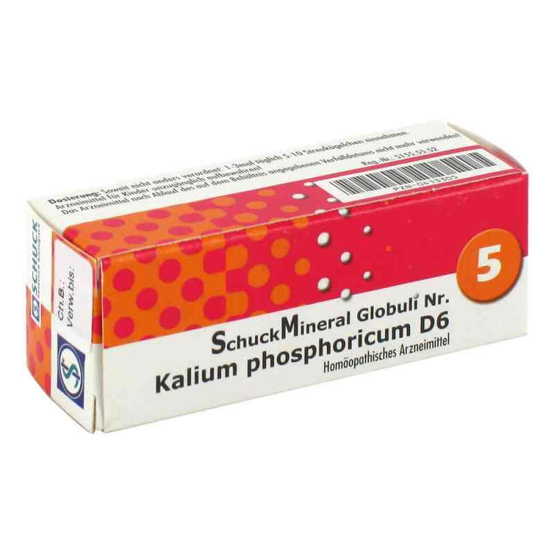Schuckmineral Globuli 5 Kalium phosphoricum D6  bei Apotheke.de bestellen