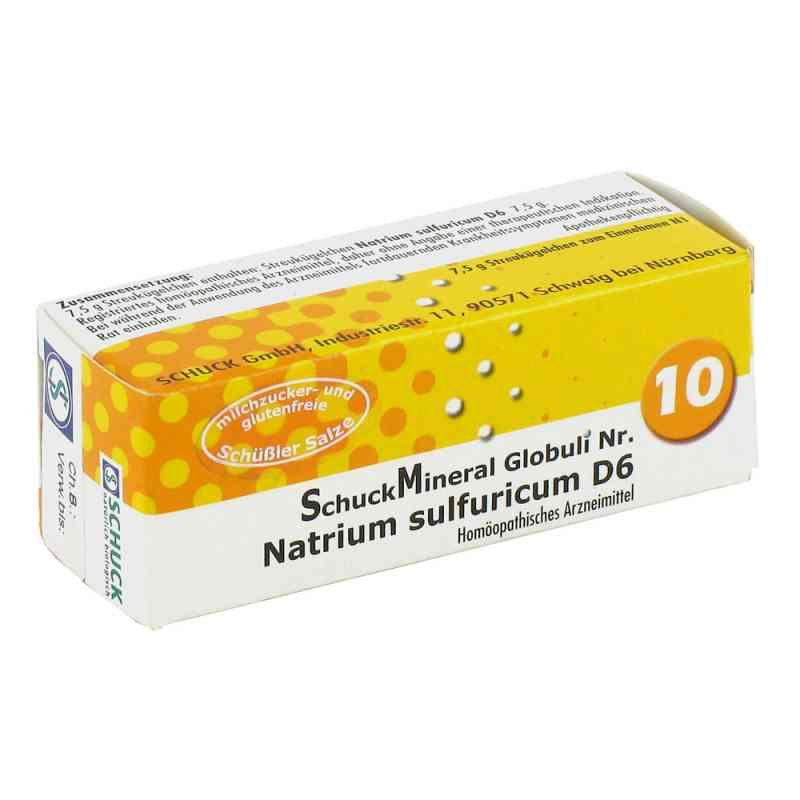 Schuckmineral Globuli 10 Natrium sulfuricum D6  bei Apotheke.de bestellen