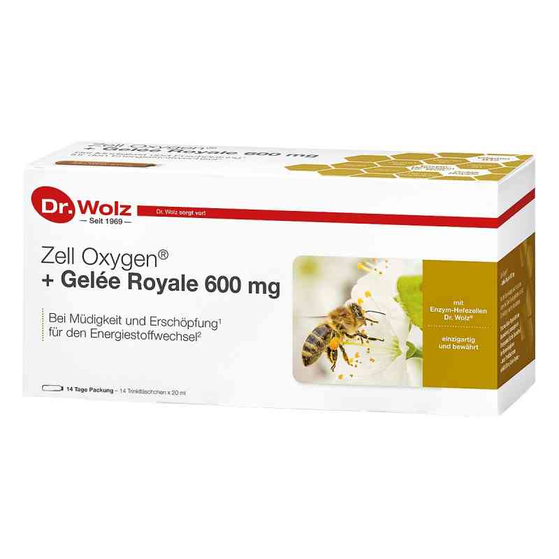 Zell Oxygen + Gelee Royale 600 mg Trinkampullen  bei Apotheke.de bestellen