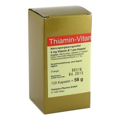 Thiamin Kapseln Vitamin B1  bei Apotheke.de bestellen