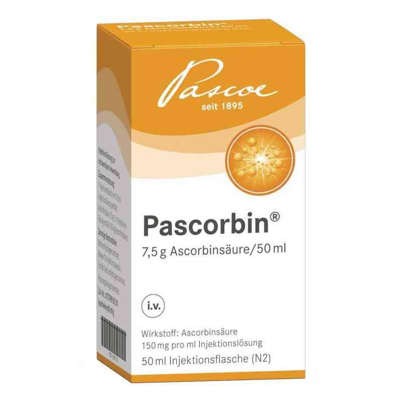 Pascorbin 7,5 g Ascorbinsäure/50ml iniecto -lösung  bei Apotheke.de bestellen