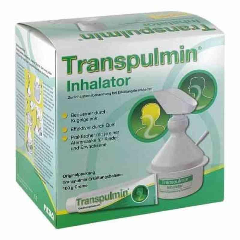Transpulmin Erkältungsbalsam + Inhalator  bei Apotheke.de bestellen