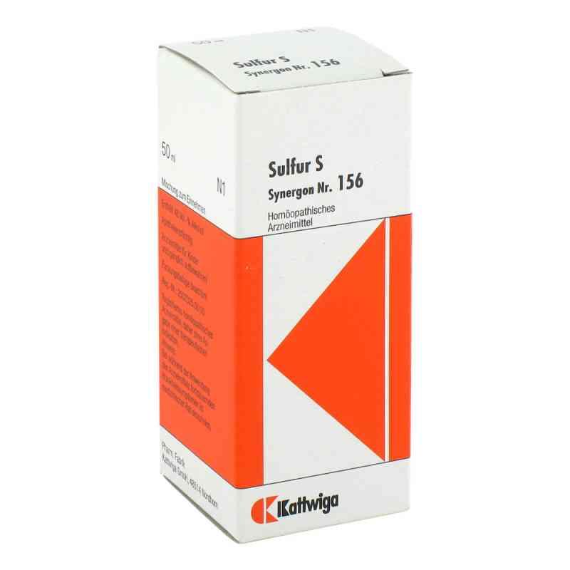 Synergon 156 Sulfur S Tropfen  bei Apotheke.de bestellen