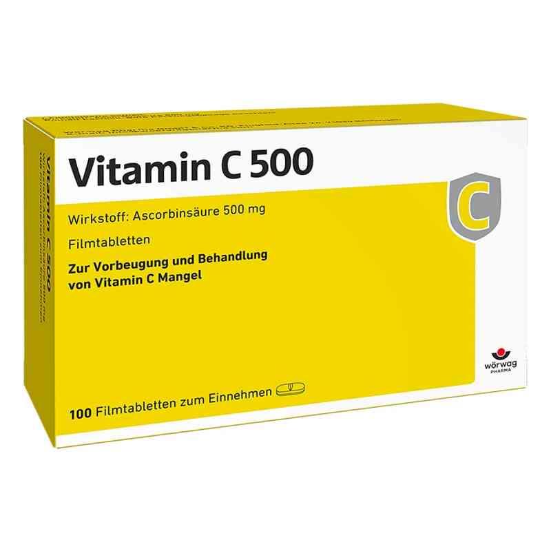 Vitamin C 500 Filmtabletten  bei Apotheke.de bestellen