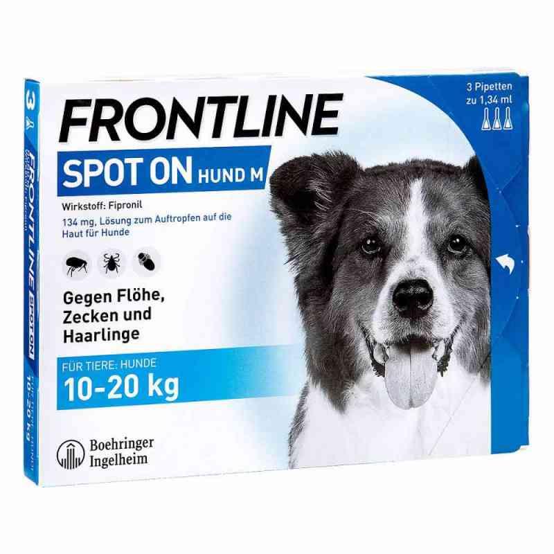 Frontline Spot on Hund 20 veterinär Lösung gegen Floh und Zecke  bei Apotheke.de bestellen
