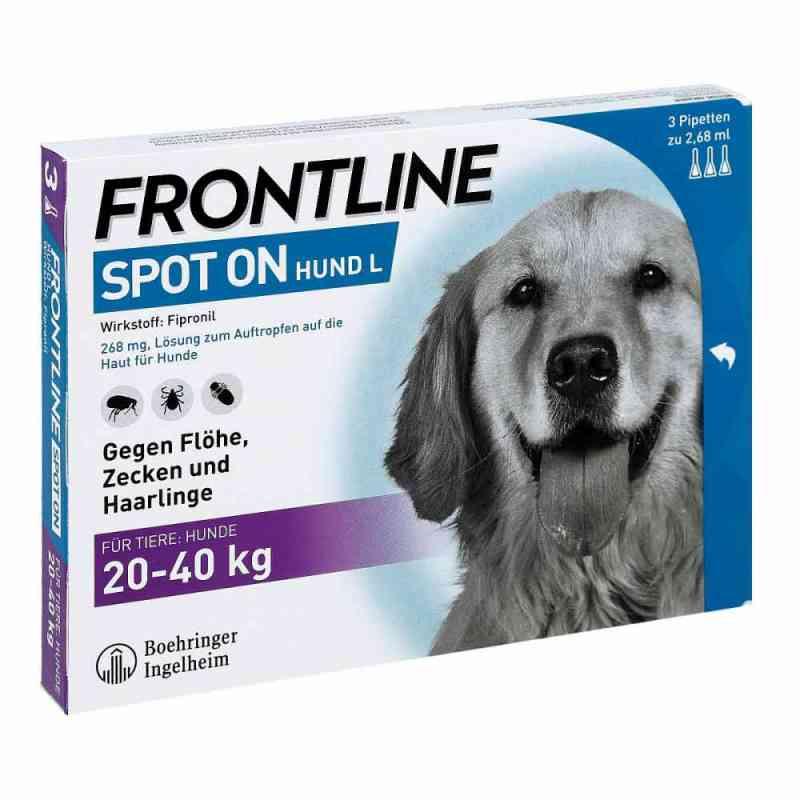 Frontline Spot on Hund 40 veterinär Lösung gegen Floh und Zecke  bei Apotheke.de bestellen