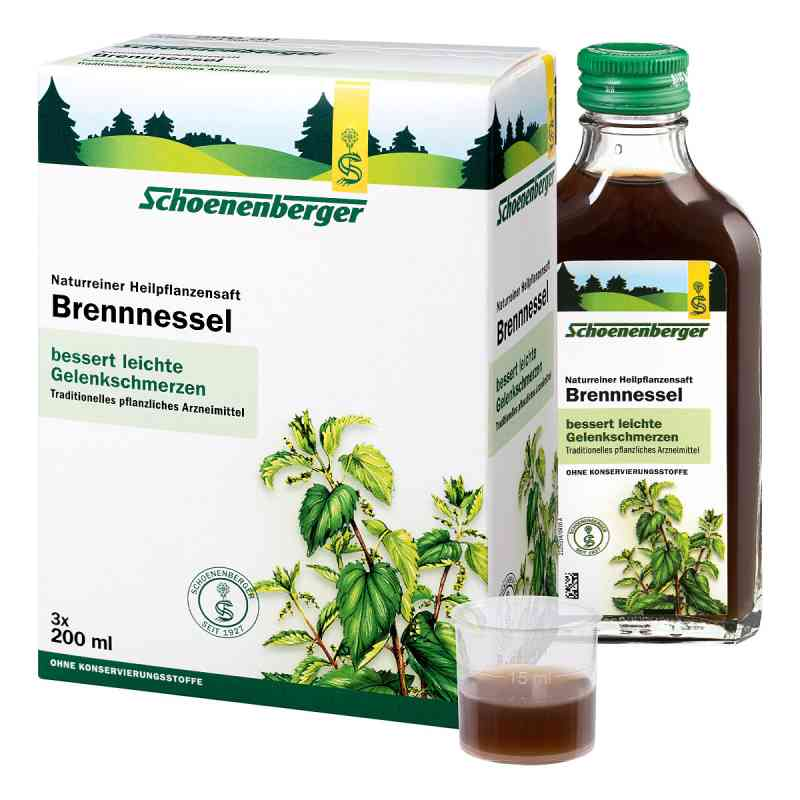 Brennesselsaft Schoenenberger  bei Apotheke.de bestellen