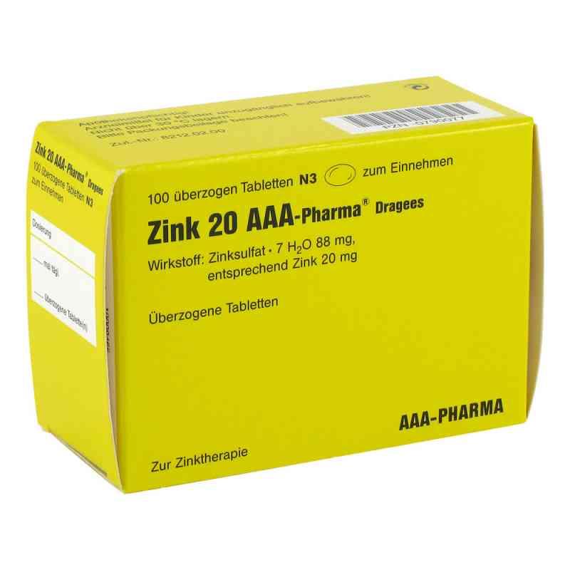 Zink 20 AAA-Pharma  bei Apotheke.de bestellen