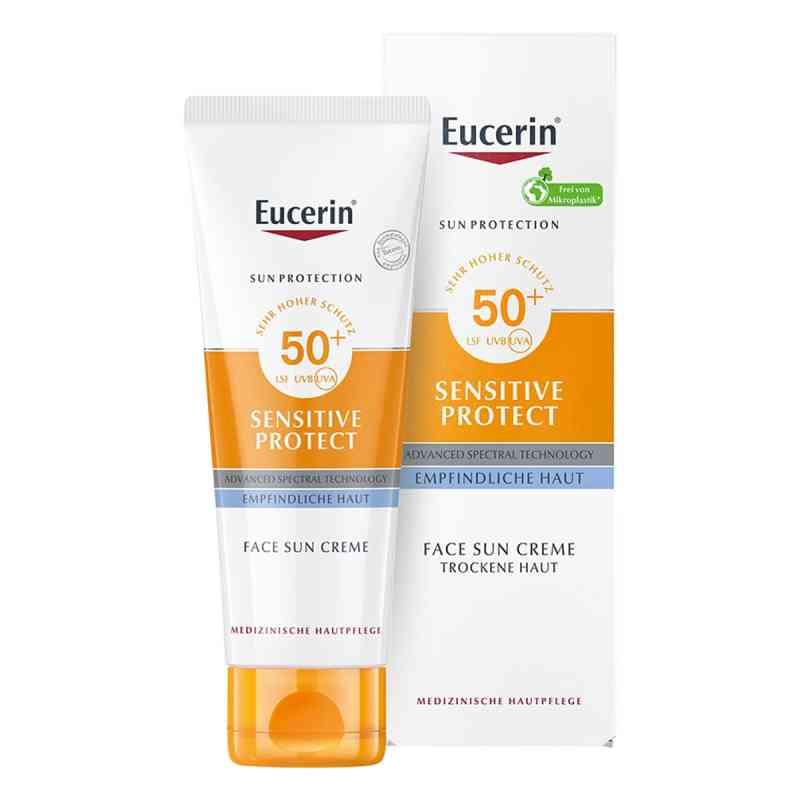 Eucerin Sun Sensitive Protect Face Creme LSF 50+  bei Apotheke.de bestellen