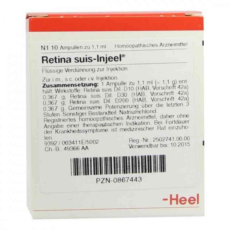 Retina Suis Injeel Ampullen  bei Apotheke.de bestellen