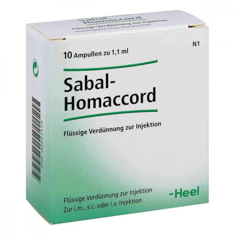 Sabal Homaccord Ampullen  bei Apotheke.de bestellen
