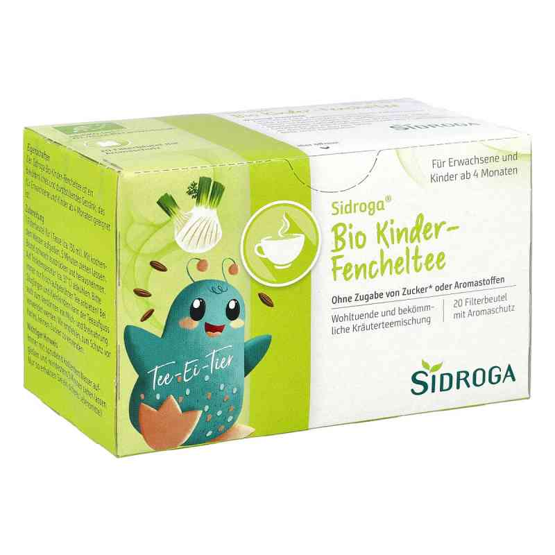 Sidroga Bio Kinder-fencheltee Filterbeutel  bei Apotheke.de bestellen