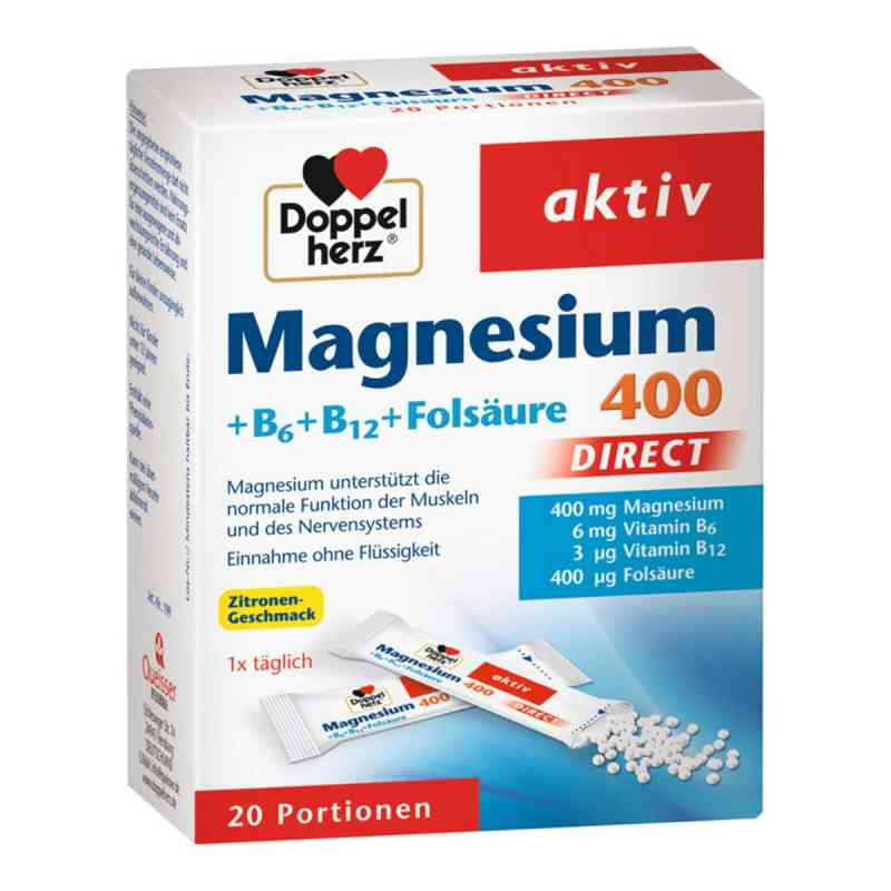 Doppelherz Magnesium + B Vitamine Direkt Pellets  bei Apotheke.de bestellen