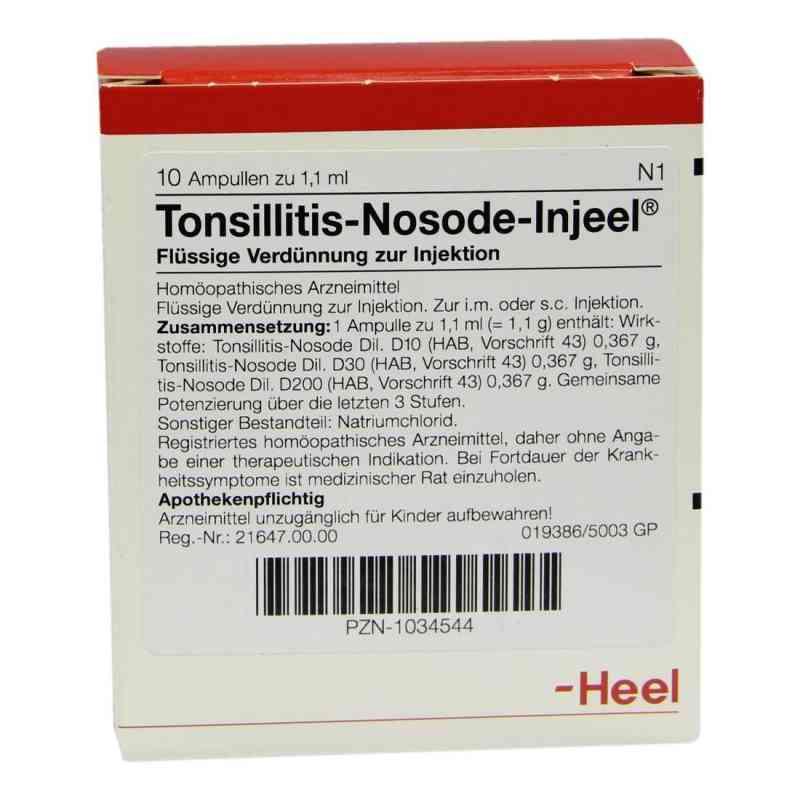 Tonsillitis Nosode Injeel Ampullen  bei Apotheke.de bestellen