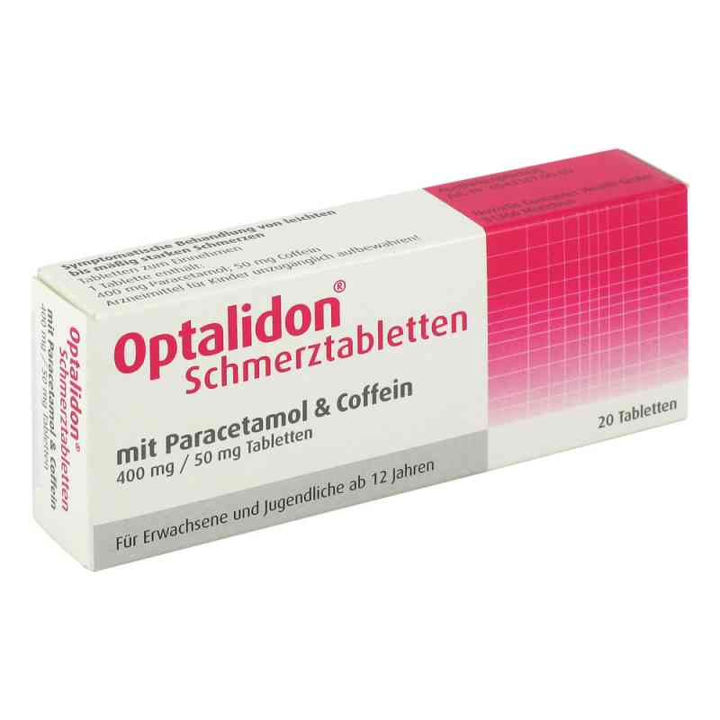 optalidon schmerztabletten mit paracetamol und coffein 20 stk. Black Bedroom Furniture Sets. Home Design Ideas