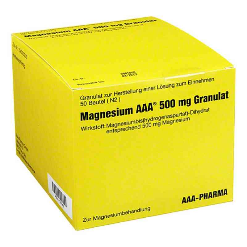 Magnesium Aaa 500 mg Granulat  bei Apotheke.de bestellen