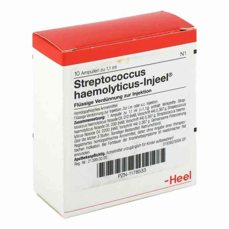 Streptococcus Haemolyticus Injeel Ampullen  bei Apotheke.de bestellen