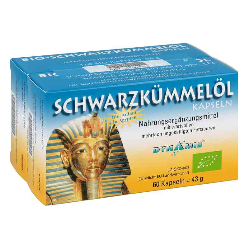 Schwarzkümmel Bio ägypt. Kapseln  bei Apotheke.de bestellen