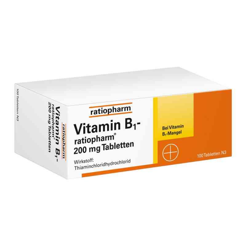 Vitamin B1 ratiopharm 200 mg Tabletten  bei Apotheke.de bestellen
