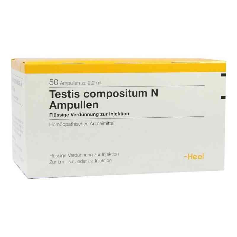 Testis Compositum N Ampullen  bei Apotheke.de bestellen