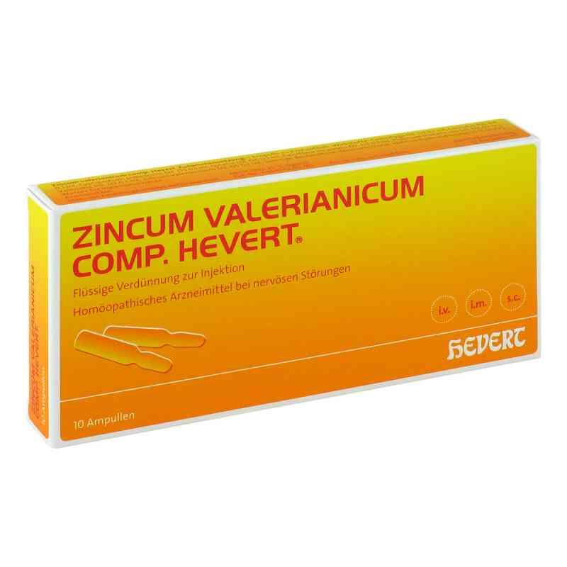 Zincum Valerianicum compositus  Hevert Ampullen  bei Apotheke.de bestellen