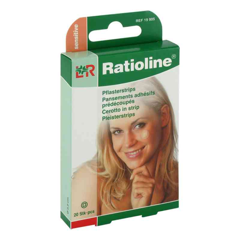 Ratioline sensitive Pflasterstrips rund  bei Apotheke.de bestellen