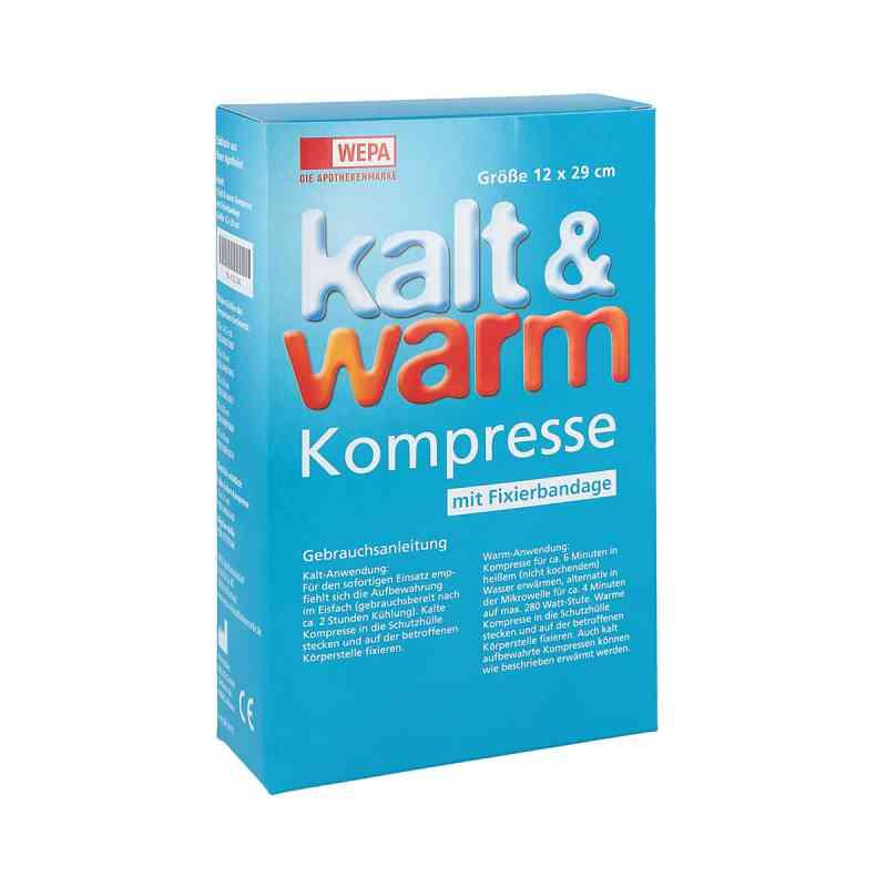 Kalt-warm Kompresse 12x29cm mit Fixierband  bei Apotheke.de bestellen