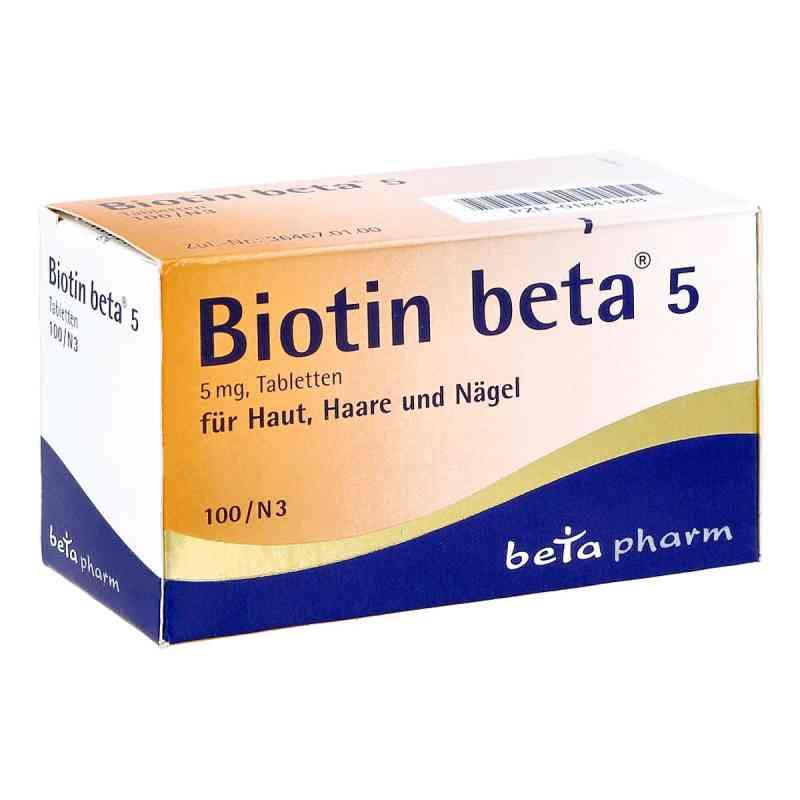 Biotin Beta 5 Tabletten  bei Apotheke.de bestellen