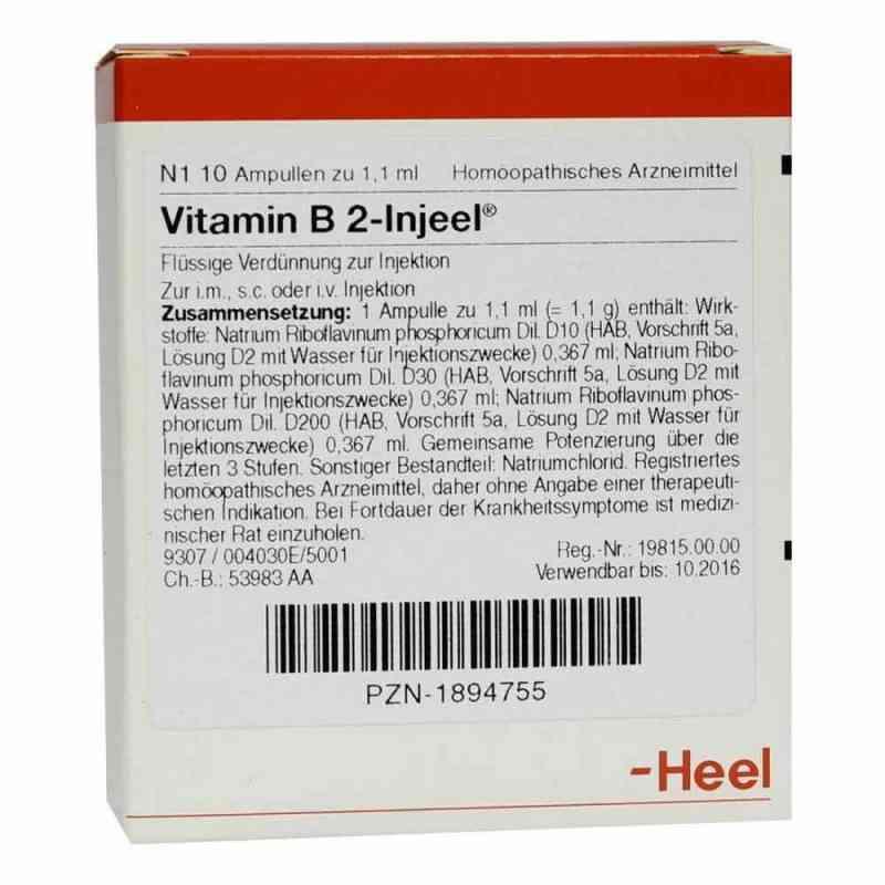 Vitamin B2 Injeel Ampullen  bei Apotheke.de bestellen