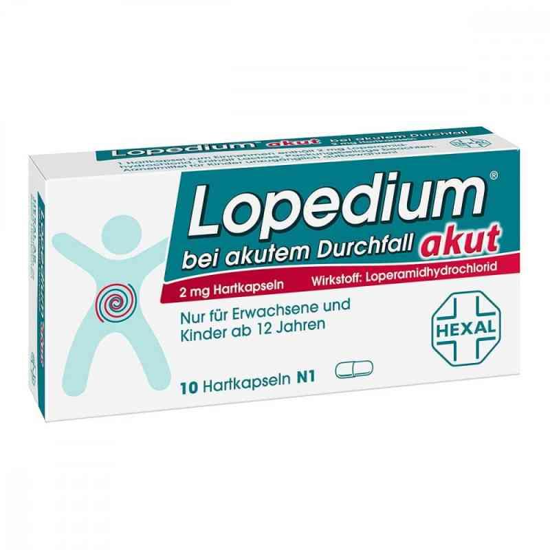 Lopedium akut bei akutem Durchfall bei Apotheke.de bestellen