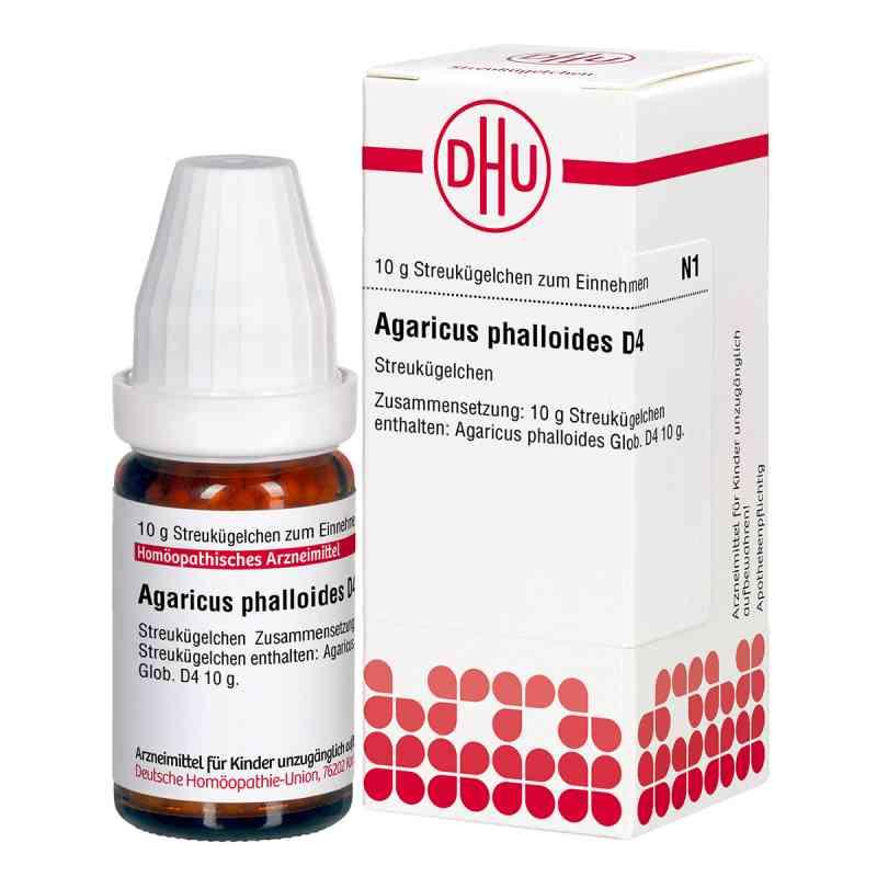 Agaricus Phalloides D 4 Globuli  bei Apotheke.de bestellen