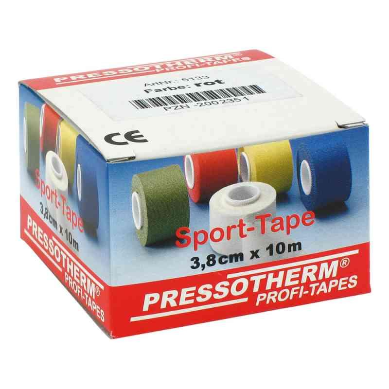 Pressotherm Sport-tape 3,8cmx10m rot  bei Apotheke.de bestellen