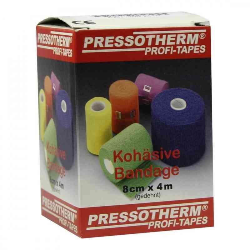 Pressotherm Kohäsive Bandage 8cmx4m blau  bei Apotheke.de bestellen