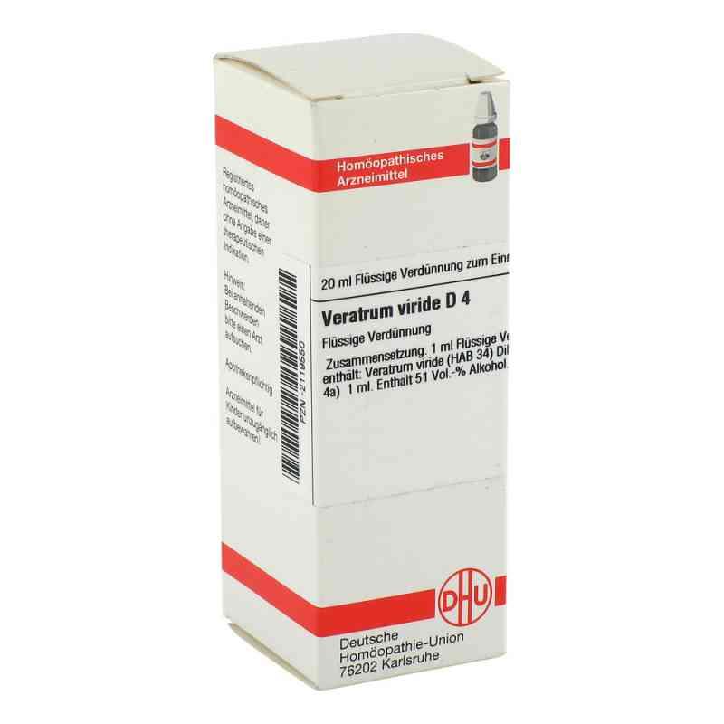 Veratrum Viride D4 Dilution  bei Apotheke.de bestellen