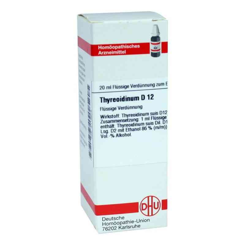 Thyreoidinum D12 Dilution  bei Apotheke.de bestellen