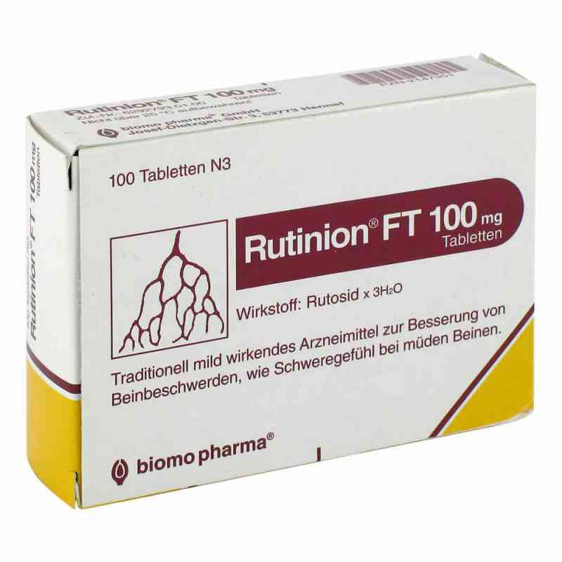 Rutinion FT 100mg  bei Apotheke.de bestellen
